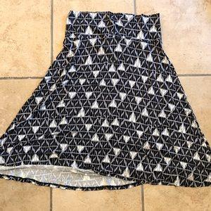 Black grey and white Aline Azure skirt!